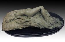 RICHARD MACDONALD Reclining Nude Bronze Sculpture Original Signed Relief Artwork