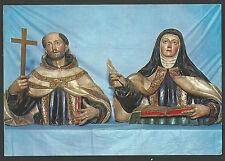 Postal San Juan de la Cruz y Santa Teresa santino holy card
