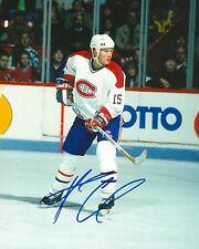 Andrew Cassels signed Montreal Canadiens 8X10 Photo Coa
