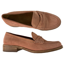 Madewell The Elinor Suede Loafer Mule Dust Clay Rose Pink Women Size 7