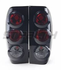 Stealth 1998-2004 Nissan Frontier Altezza Style Taillight - Black/Smoke