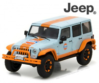 Greenlight 86089 2015 GULF Jeep Wrangler Unlimited All Terrain 1:43 Scale