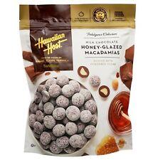 Hawaiian Host Milk Chocolate Honey Glazed Macadamia Nuts 24 oz