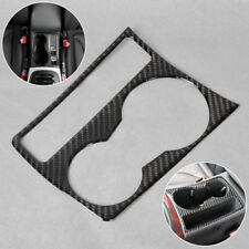 car Cup Holder Panel Decor interior trim Carbon Fiber for 09-15 Audi A4 B8 A5