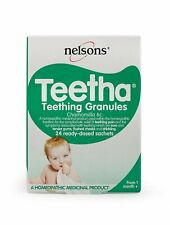 Nelsons Baby Teetha Teething Granules 24 Sachets Teething pain Relief