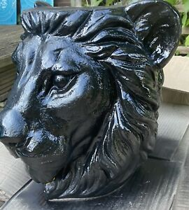 Latex Mould for making this Stunning Lion Plant Pot