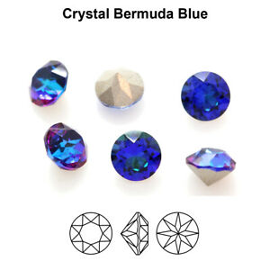 Genuine AURORA A1088 Chaton Round Stones Crystals * Different Colors & Sizes