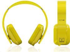 Nokia Monster Purity HD WH-930 con cable sobre la oreja Auriculares estéreo con micrófono-Amarillo