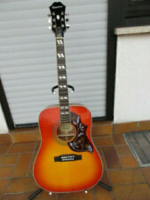 Epiphone Hummingbird Pro FC (Elektro-akustische Gitarre, Faded Cherryburst)
