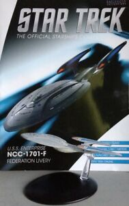 Star Trek U.S.S Enterprise NCC-1701-F Starship Bonus Edition 13 EAGLEMOSS engli.