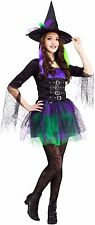 Spellbinding Witch Costume for Junior/Teen size 0-9 New by Fun World 123573