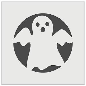 Spooky Halloween Ghost Wall Cookie DIY Craft Reusable Stencil