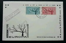 Ireland Trees 1962 Forest Plant (stamp FDC) *clean