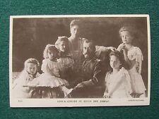 Royal Antique Photo Postcard Russian Romanov Imperial Family Tsar Nicholas II