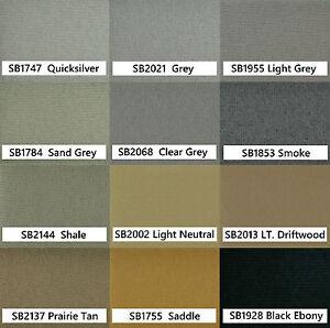 07-16 Volvo S80 Sedan Headliner Foam Backed Ceiling Repair Fabric Material Kit