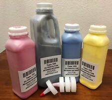 100g//Bottle,5 Black,5 Cyan,5 Magenta,5 Yellow No-name Refill Copier Color Laser Toner Powder Kit for Ricoh Aficio MPC 4000 5000 MPC4000 MPC5000 Laser Toner Power Printer