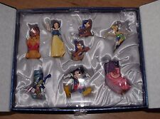 Disney Classics Ornament 30th Anniversary Limited Edition Snow White Tink cat