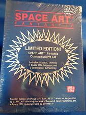 SPACE ART FANTASTIC CARDS - 1993 LIME ROCK (56) CARD SET w/ BINDER -  ! LQQK !