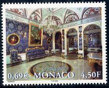 TIMBRE DE MONACO N° 2311 ** PALAIS DE MONACO / LA SALLE BLEU