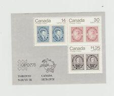 Canada 1978 Capex MNH Souvenir Sheet # 756a