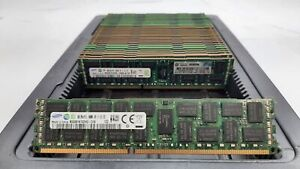 LOT 32 SAMSUNG M393B1K70DH0-CH9 8GB DDR3 PC3-10600R 1333 ECC REG DIMM MEMORY RAM