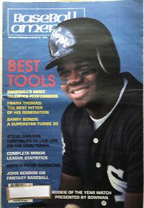 Vintage 1994 Baseball America FRANK THOMAS Cover Original Best Hitter Of His Gen