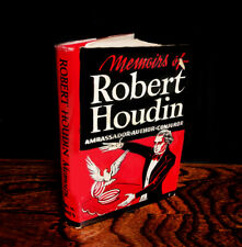 THE MEMOIRS OF ROBERT HOUDIN by Dr. R.Shelton Mackenzie, 1944 - 1st Edition