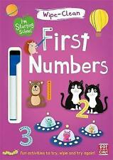 First Numbers: Wipe-Clean Book with Pen by Pat-a-Cake (Paperback, 2017)