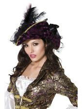 Fever Marauding Pirate Hat Adult Womens Smiffys Fancy Dress Costume Hat