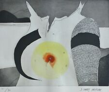 JOAN GARDY ARTIGAS Soleil et lune HAND SIGNED ORIGINAL ETCHING worked with Miro