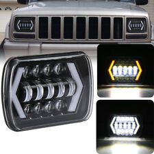 55W 5X7 7X6 Sealed Beam LED Headlight Replacement for Jeep Cherokee XJ Trucks