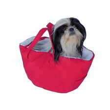 Dog Bed/Carrier, with Car Seatbelt loop, Shopping Cart Carrier/Bed for small 6