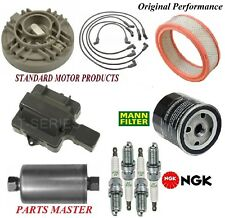Tune Up Kit Filters Cap Spark Plugs Wire For CHEVY C3500 V8 7.4L; TBI 1988-1989