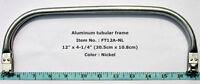 "FT12A-NL 5pcs 12"" Metal internal tubular purse frames, Internal handbag handles"