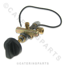 Gv05 8mm Nat Lp Gas Lpg válvula Tap C/w piloto Outlet y construido en encendido por chispa