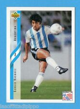 Figurina/CARDS-UPPER DECK 94 -WC USA 94- n.199- VASQUEZ - ARGENTINA