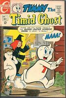 Timmy the Timid Ghost 1 VF 8.0 OW/W Uncommon Charlton Comic Casper-Like Hi-Grade