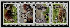 AFGHANISTAN - UNLISTED NH issue of 2004 - WWF - ANIMALS -  STRIP OF 4