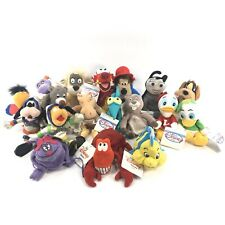Lot Of 18 Disney Store Mini Bean Bag Plush Dolls With Tags