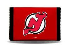 New Jersey Devils Wallet Nylon Trifold Rico NHL