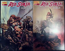 RED SONJA: ONE MORE DAY 0A,0B...2005...NM-...Jimmy Palmiotti...Bargain!