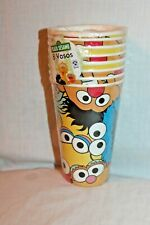NEW IN PACKAGE SESAME STREET  8- CUPS PARTY SUPPLIES