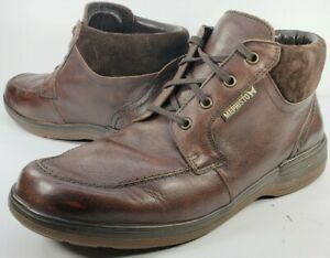 Mephisto Men's Darwin Rain Boot Size 9-9.5M Brown Leather Air Jet Insole System