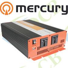 More details for mercury 12vdc 2500w soft start modified sine wave inverters tvs, lighting, fans