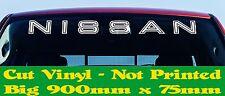 NISSAN JDM 4x4 Ute Turbo Diesel Windscreen Canopy Stickers 900mm