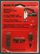 Bosch® 2607010030 Replacement Set of Cutter Blades - w/Hardware - 1503 Shear