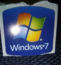 Logo adesivo Windows 7 sticker - Adatto a tutte le versioni 32 e 64 Bit