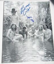 Allman Brothers Butch Trucks And Jaimoe Signed 11 X 14 Famous Naked Shot 1st Lp