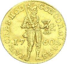 Niederlande Westfriesland Provinz Dukat 1760 Gold vz