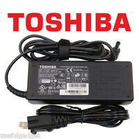 Original OEM Toshiba 65W-120W AC Charger Adapter Cord For Satellite S series